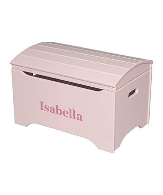 Soft Pink Personalized Treasure Chest