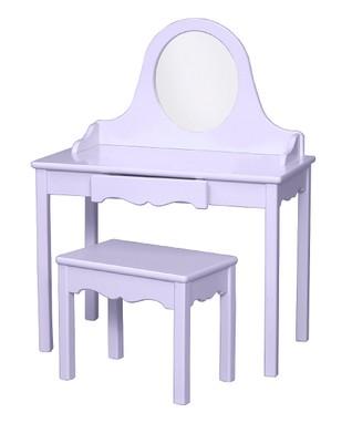 Lavender Vanity & Bench