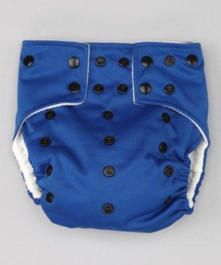 Little Monsters Navy Blue Pocket Diaper