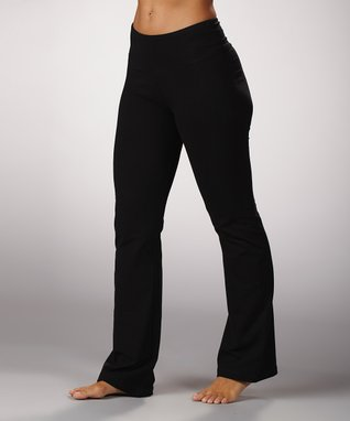 Marika Black Tummy-Control Yoga Pants - Women