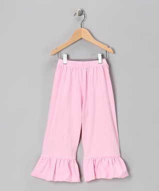 Pink Flower Glitter Dress - Infant, Toddler & Girls