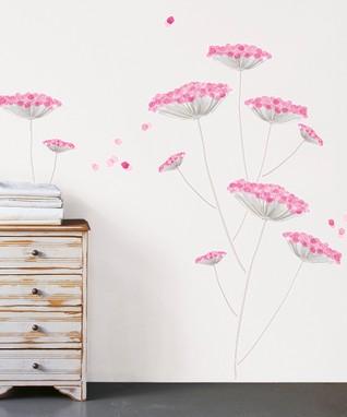 Japan Anemone Wall Decal Set
