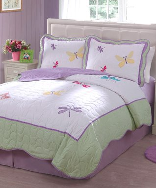 Butterfly Spring Quilt Set