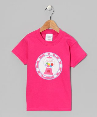 Red 'Sweet!' Bubble Gum Tee - Infant, Toddler & Boys