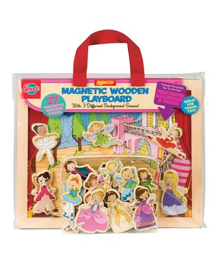 T.S. Shure Shure Princesses, Ballerinas & Fairies Wooden Playboard Set