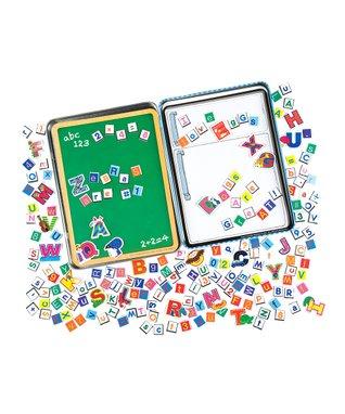 T.S. Shure Alphabet & Numbers Magnet Set