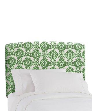 Emerald Luminary Upholstered Headboard