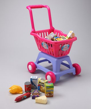 The Learning Journey Shop & Go Shopping Cart Set