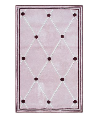 Pink Tufts Rug