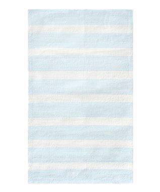 Blue Cabana Stripe Rug
