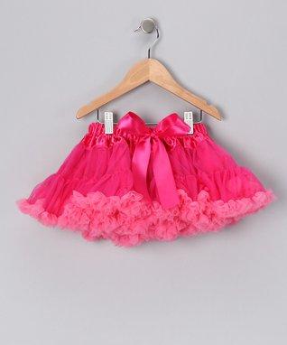Hot Pink & Bubblegum Pink Pettiskirt - Infant, Toddler & Girls