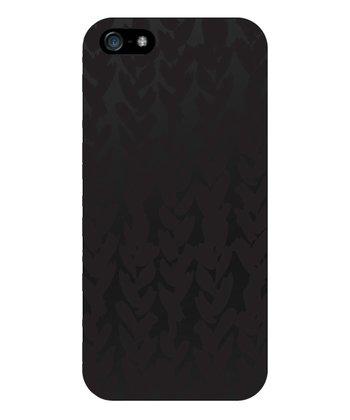Black Matte Heart Case for iPhone 5