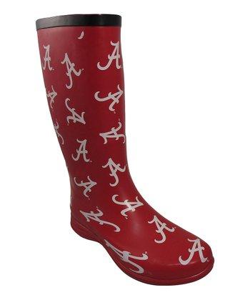 Alabama Crimson Tide Puddlez Rain Boot - Women