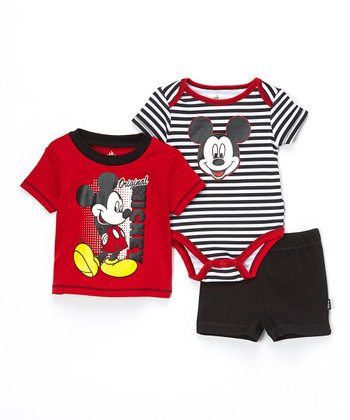 Mickey Mouse Bodysuit Set