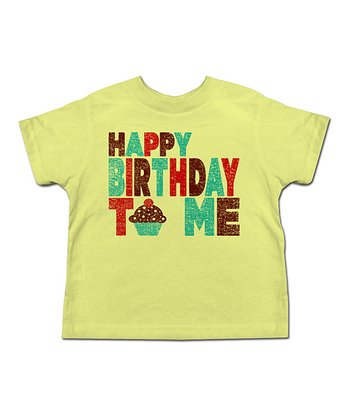 Banana 'Happy Birthday to Me!' Tee - Toddler & Kids