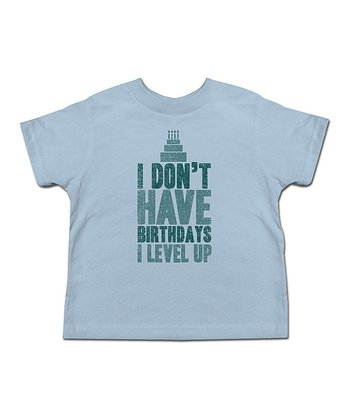 Blue 'I Don't Have Birthdays…' Tee - Toddler & Kids