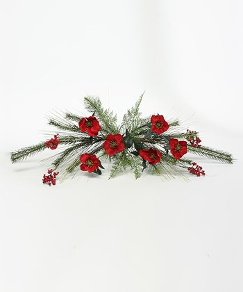Holiday Helleborus Table Piece Décor