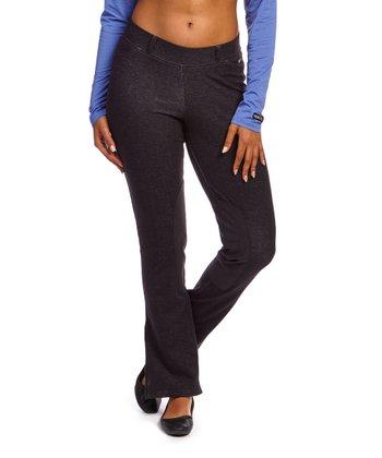 Black Denim Boot-Cut Riding Pants - Women & Plus