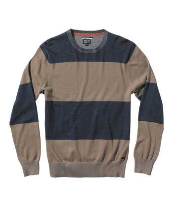 Midnight Block Plate Sweater - Boys