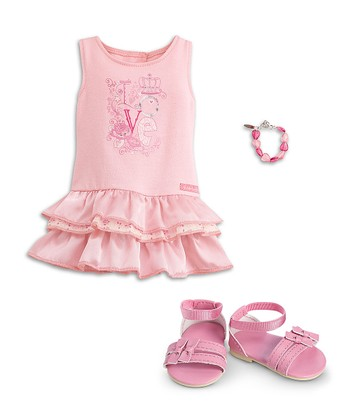 "Pretty Pink Outfit for 18"" Doll"