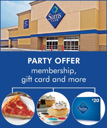 Sam's Club® Best Membership With Party Food