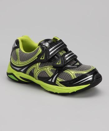 Citron & Gray Spider Sneaker