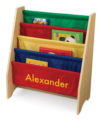 Primary Sling Personalized Bookshelf