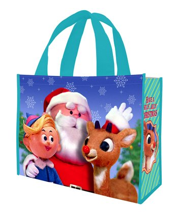 Rudolph 'Holly Jolly' Shopping Tote - Set of Two
