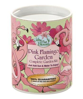 Flamingo Garden Can