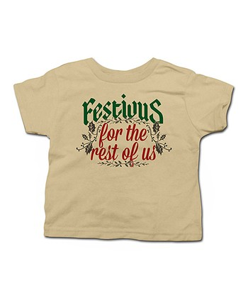 Khaki 'Festivus for the Rest of Us' Tee - Toddler & Kids