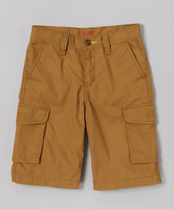 Bronze Cargo Shorts - Toddler