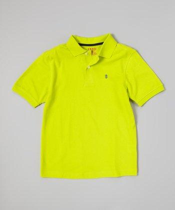 Lemon Lime Polo - Boys