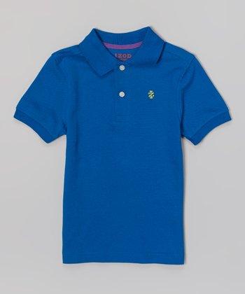 Royal Blue Polo - Boys