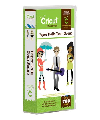 Paper Doll Teen Scene Cartridge