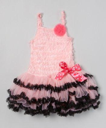 Pink Ruffle Pettidress - Infant & Toddler