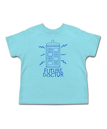 Aqua 'Future Doctor' Tee - Toddler & Kids