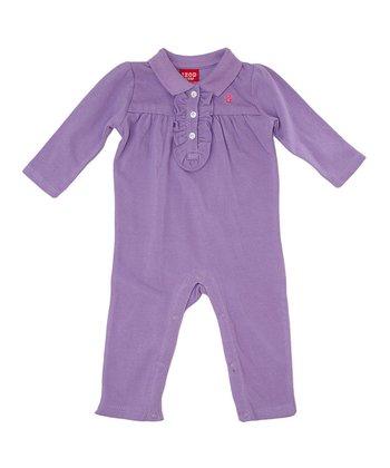 Lavender Ruffle Playsuit - Infant