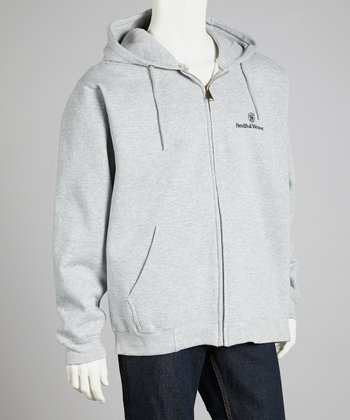 Athletic Heather Smith & Wesson Zip-Up Hoodie