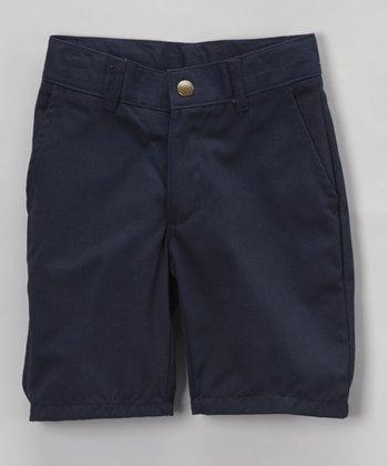 Navy Shorts - Boys