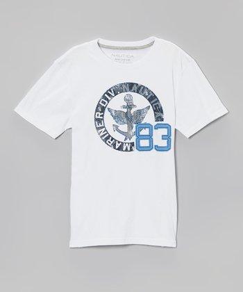 White '83' Tee - Boys