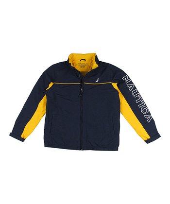 Sport Navy Shell Jacket - Boys