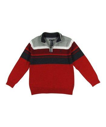 Samba & Navy Stripe Pullover - Boys