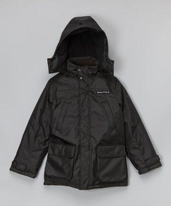 Deep Black Snorkel Jacket - Toddler & Boys