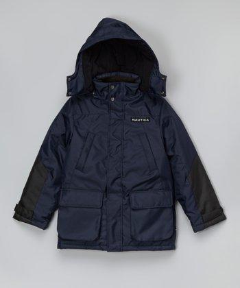 Sport Navy Snorkel Jacket - Toddler