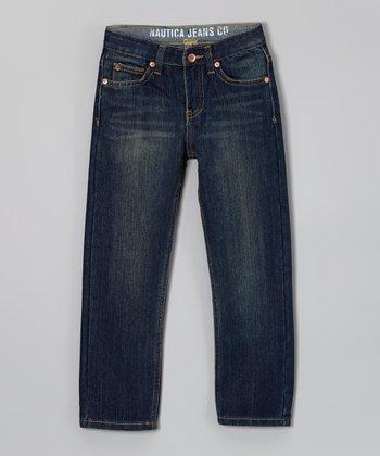 Dark Blue Denim Skinny Jeans - Toddler & Boys