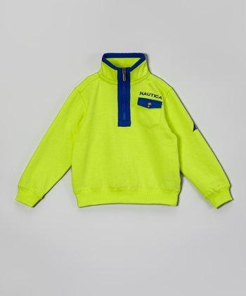 Neon Yellow Pullover - Toddler & Boys