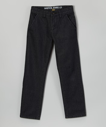 Dark Rinse Denim Jeans - Boys
