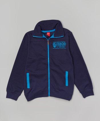 Blue Zip-Up Fleece Jacket - Boys