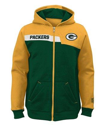 Green Bay Packers Zip-Up Hoodie - Boys