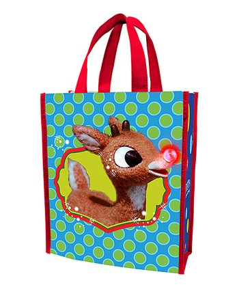 Rudolph Shopping Tote - Set of Two
